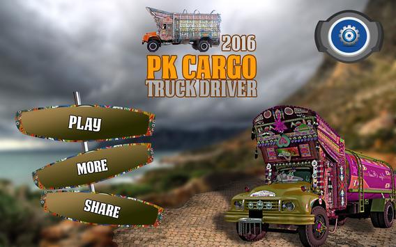 PK Cargo Truck Driver 2016 apk screenshot