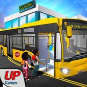 City School Bus Driving 2017: Parking Simulator 3D icon