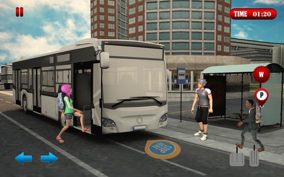 City School Bus Driving 2017: Parking Simulator 3D apk screenshot