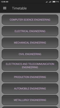 PMEC Timetable screenshot 1