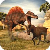 T-Rex Simulator 3D: Dino Attack Survival Game icon