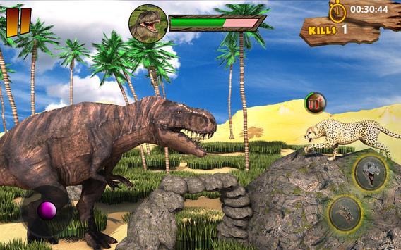 T-Rex Simulator 3D: Dino Attack Survival Game screenshot 1