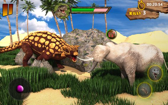 T-Rex Simulator 3D: Dino Attack Survival Game screenshot 5