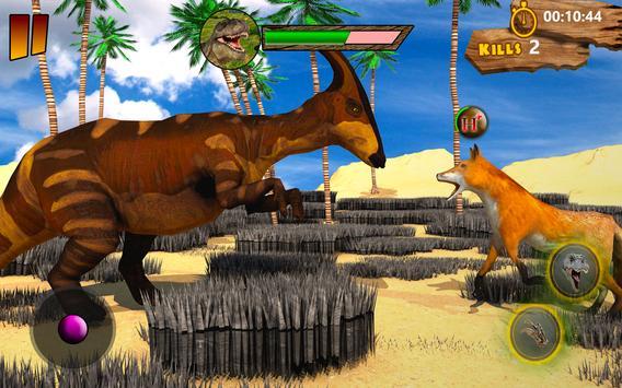 T-Rex Simulator 3D: Dino Attack Survival Game screenshot 8
