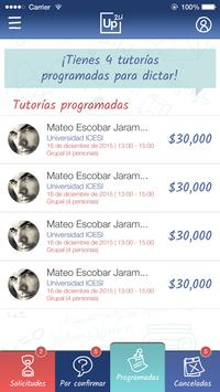 Up2u Uptutor screenshot 2