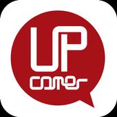 UPcomer(アップカマー) 人と企業を繋ぐ、コミュニケーションアプリ icon