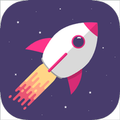 Rocket In Space icon