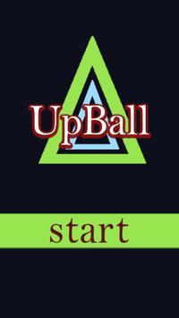 UpBall - Minimalistic poster
