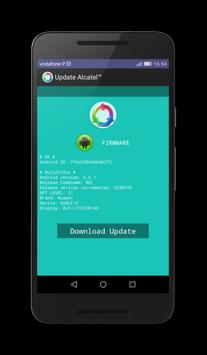 Update Alcatel™ for Android™ screenshot 1