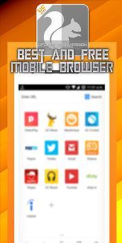 Mini UC Browser Fast New Tips apk screenshot