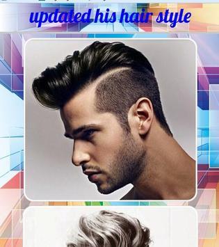 updated his hair style screenshot 1