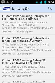 UpdateROM apk screenshot