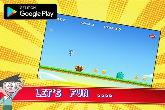 Doraemon Play Run Subway poster