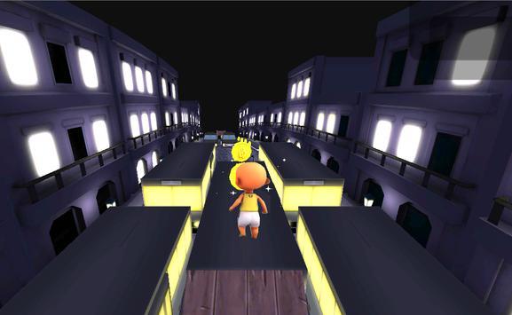 Upin Surfer Ipin adventure run apk screenshot