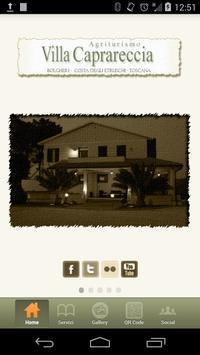 Villa Caprareccia poster