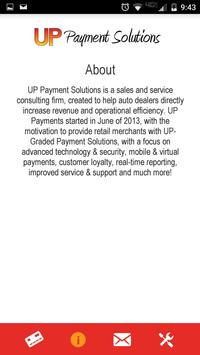 UP Payments Mobile screenshot 2