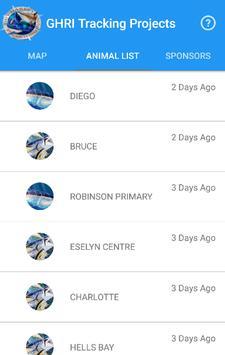 GHRI Shark Tracker screenshot 1