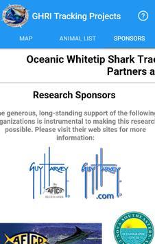GHRI Shark Tracker screenshot 2