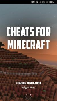 Cheats for Minecraft poster