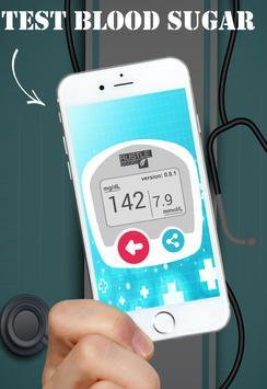 Blood Sugar Test diabete PRANK apk screenshot