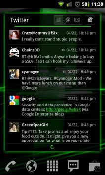 Galaxy Green LPP / APW Theme screenshot 1
