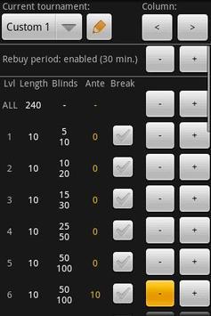 Ultimate Holdem Timer apk screenshot