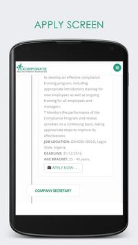 RECRUITMENT JOB INTERVIEW APP screenshot 5