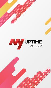 My UPTIME Online poster
