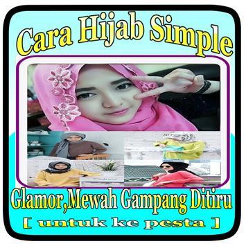 CARA HIJAB SIMPLE,GLAMOR,MEWAH DAN GAMPANG DITIRU poster