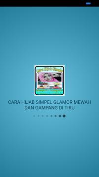 CARA HIJAB SIMPLE,GLAMOR,MEWAH DAN GAMPANG DITIRU screenshot 1