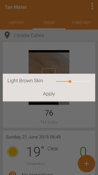 UV Index Forecast Tan Meter Ekran Görüntüsü 3