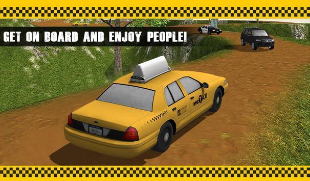 Off Road Taxi Driver Simulator apk screenshot