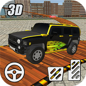 4x4 Stunt Parking City Climb icon