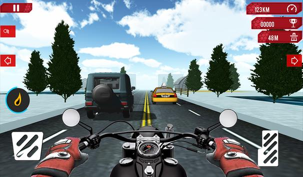 City Bike Racing 3D Game poster