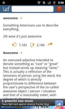 Urban Dictionary screenshot 2