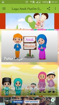Lagu Anak Muslim Offline screenshot 1