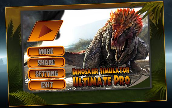 Dinosaur Simulator Ultimate 3D apk screenshot