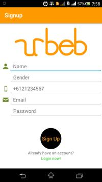 URBEB poster