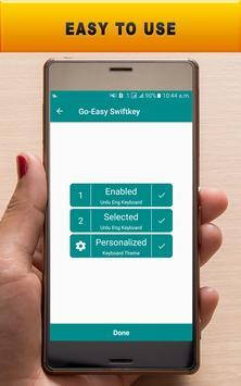 Go-Easy Swift Keyboard screenshot 8