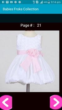 Babies Frocks Designs Collection apk screenshot