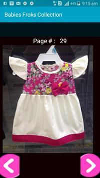 Babies Frocks Designs Collection screenshot 2