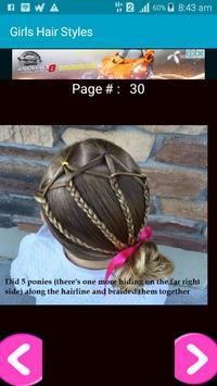 Girls Hair Styles poster
