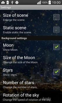 MagicNight Free Live Wallpaper screenshot 3