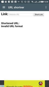 URL Shortner poster