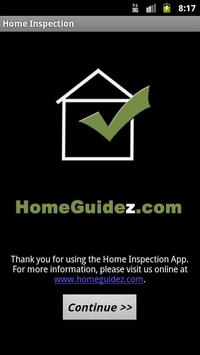 Home Inspection App poster