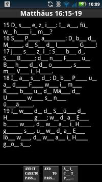 Scripture Mastery App (Deu) apk screenshot