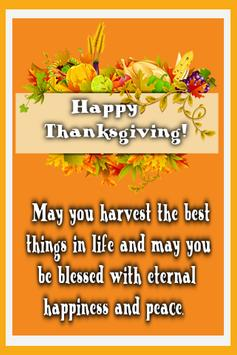 Thanksgiving Day Wishes poster
