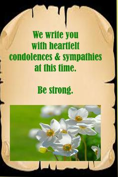 Condolences & Sympathy Message screenshot 4