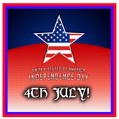 4th July USA Independence icon
