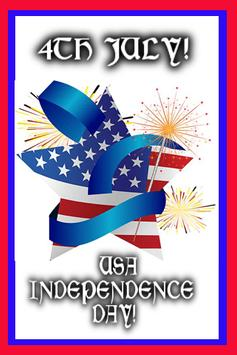 4th July USA Independence poster